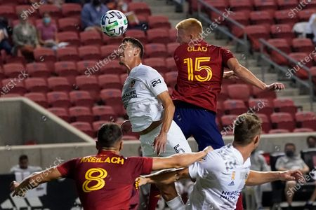 Editorial picture of MLS Galaxy Real Salt Lake Soccer, Salt Lake City, United States - 23 Sep 2020