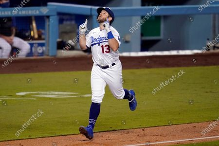 Editorial image of Athletics Dodgers Baseball, Los Angeles, United States - 23 Sep 2020