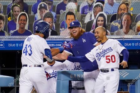 Editorial photo of Athletics Dodgers Baseball, Los Angeles, United States - 23 Sep 2020