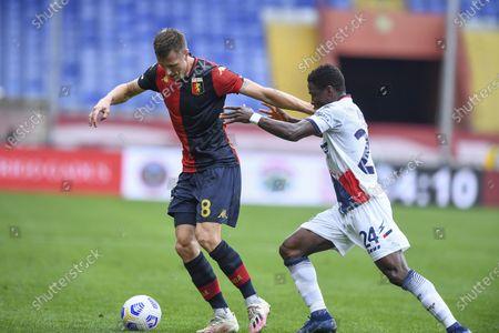 Editorial picture of Soccer: Serie A 2020-2021 : Genoa 4-1 Crotone, Genova, Italy - 20 Sep 2020