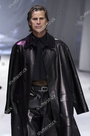 Stock Photo of Mark Vanderloo on the catwalk