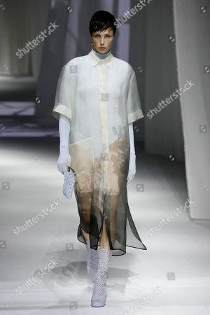 Editorial photo of Fendi show, Runway, Spring Summer 2021, Milan Fashion Week, Italy - 23 Sep 2020