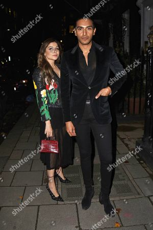 Editorial image of Celebrities at Annabel's, London, UK - 23 Sep 2020