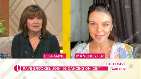 Stock Picture of Lorraine Kelly, Faye Brooks