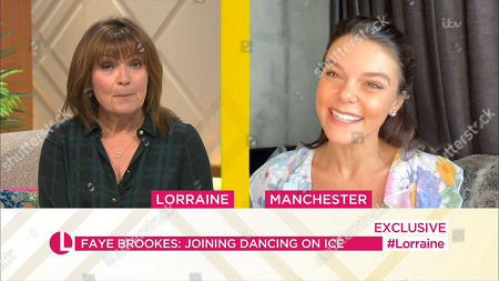 Editorial picture of 'Lorraine' TV Show, London, UK - 24 Sep 2020