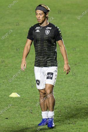 Keisuke Honda of Botafogo before the match