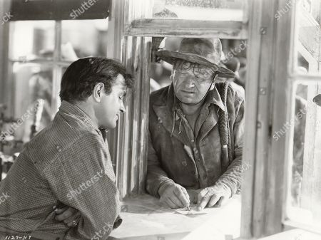 Noah Beery Jr and Wallace Beery