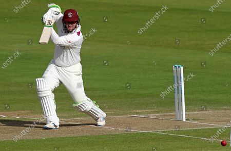 Steve Davies of Somerset in batting action during Somerset CCC vs Essex CCC, Bob Willis Trophy Final Cricket at Lord's Cricket Ground on 24th September 2020