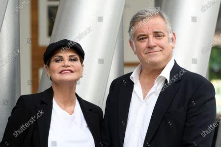 Simona Ventura, Ludovico Di Meo director Rai2