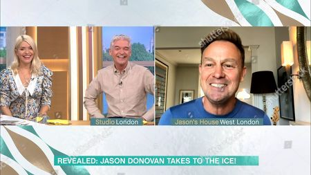 Redactionele afbeelding van 'This Morning' TV Show, London, UK - 24 Sep 2020