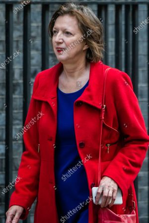 Frances O'Grady, General Secretary of the TUC arrives to meet Rishi Sunak before he heads off to Parliament to make his Winter Economy Plan statement, on funding the next stage of the Coronavirus Restrictions.