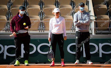 Editorial photo of French Open Tennis, Saturday Previews, Roland Garros, Paris, France - 26 Sep 2020