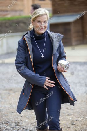 Editorial photo of Sophie Countess of Wessex visit to Coverwood Farm, Surrey, UK - 24 Sep 2020