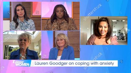 Editorial image of 'Loose Women' TV Show, London, UK - 24 Sep 2020