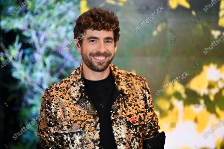 Stock Image of Spanish singer Agustin Galiana