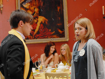 Picture shows: Dorian [Christian Cooke] and Charlotte Arc [Antonia Bernath]