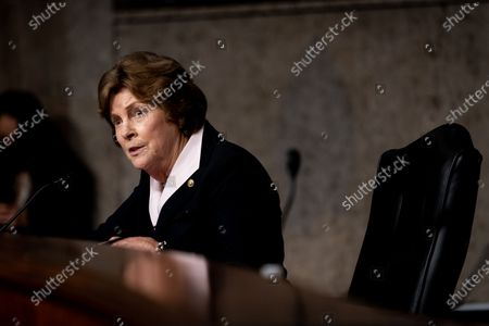 United States Senator Jeanne Shaheen (Democrat of New Hampshire) speaks during at a Senate Committee on Foreign Relations hearing on US Policy in the Middle East on Capitol Hill in Washington, DC on September 24, 2020.