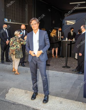 Editorial photo of Milano Fashion Week 2020, Milano (MI), Lombardia, Italy - 23 Sep 2020