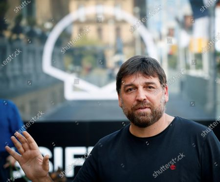 Hovik Keuchkerian arrives at the guest's hotel of the 68th annual San Sebastian International Film Festival (SSIFF), in San Sebastian, Spain, 24 September 2020. The film festival runs from 18 to 26 September 2020 under safety measures like obligatory face mask use and red carpets without public due to the Covid-19 coronavirus pandemic. Organizers have also reduced the number of film screenings as well as the seating capacity in cinemas.