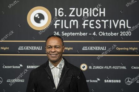 Stock Image of Ray Parker Jr. poses on the Green Carpet for the Opening Night of the 16th Zurich Film Festival (ZFF) in Zurich, Switzerland, 24 September 2020.