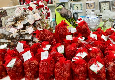 Despite Boris Johnson casting a dark cloud over Christmas get togethers with his new rule of 6 people meeting, Playhatch Garden Centre put out their display of Christmas decorations and gifts over 3 months early
