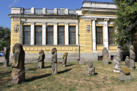 Building of the Dnipropetrovsk National Historical Museum n.a. Dmytro Yavornytskyi, Dnipro, southeastern Ukraine.