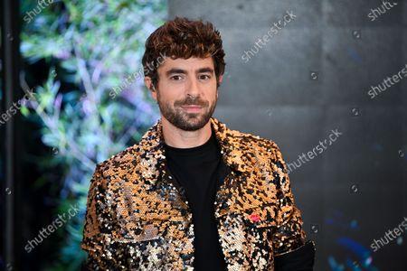 Stock Picture of Spanish singer Agustin Galiana