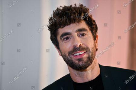 Spanish singer Agustin Galiana