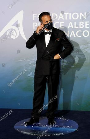 Stock Picture of Actor Andy Garcia poses on the red carpet ahead of the 2020 Monte-Carlo Gala for Planetary Health in Monaco September 24, 2020.