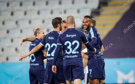 Editorial photo of Malmo FF VS NK Lokomotiva Zagreb, Sweden - 24 Sep 2020