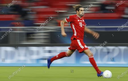 Javi Martinez of Bayern Munich in action during the UEFA Super Cup final between Bayern Munich and Sevilla at the Puskas Arena in Budapest, Hungary, 24 September 2020.