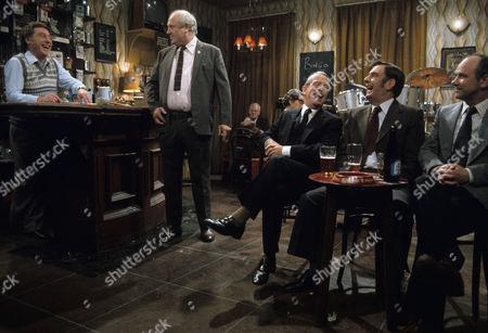 Episode 3 - 'Boom Boom' - Ray Mort as Ray, Bill Maynard as Selwyn Froggitt, Bill Dean as Jack, Harold Goodwin as Harry and Richard Davies as Clive
