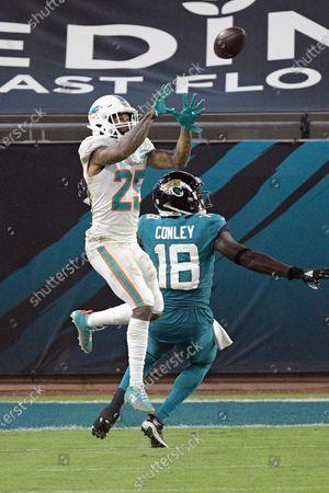 Editorial photo of Dolphins Jaguars Football, Jacksonville, United States - 24 Sep 2020