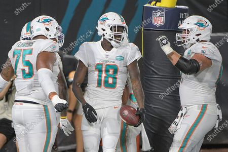 Editorial image of Dolphins Jaguars Football, Jacksonville, United States - 24 Sep 2020