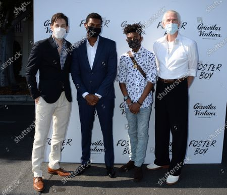 Jordan Belfi and Shane Paul McGhie, Krystian Alexander Lyttle and Matthew Modine