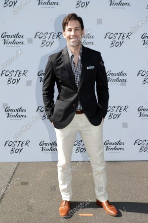 Jordan Belfi at the 'FOSTER BOY' Los Angeles Premiere at the Sony Picture Drive-In Experience