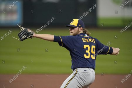 Editorial photo of Brewers Cardinals Baseball, St. Louis, United States - 24 Sep 2020