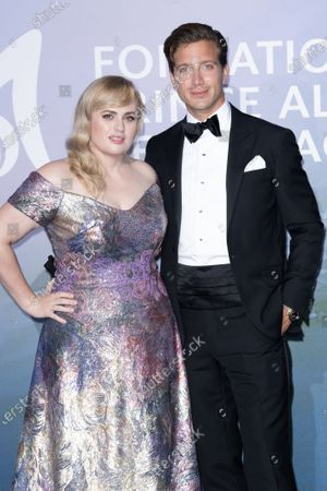 Stock Image of Rebel Wilson and Jacob Busch