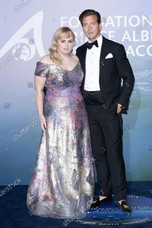 Stock Photo of Rebel Wilson and Jacob Busch
