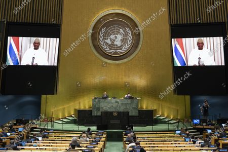 Editorial image of United Nations General Assembly General Debate Third Day - 24 Sep 2020