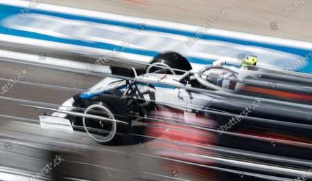 British Formula One driver George Russell of Williams in action during the second practice session of the Formula One Grand Prix of Russia at the race track in Sochi, Russia, 25 September 2020. The Formula One Grand Prix of Russia will take place on 27 September 2020.