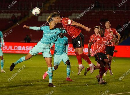 Editorial photo of Lincoln City v Liverpool, EFL Carabao Cup football match, UK - 24 Sep 2020