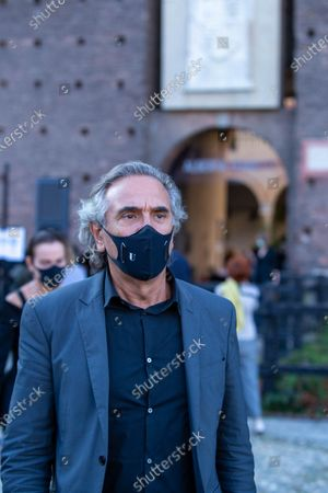 Stock Image of Italy, the president of the Chamber of Fashion Carlo Capasa.
