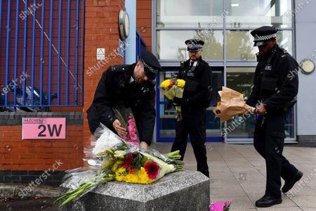 Editorial image of Police officer shot dead at Croydon Custody Centre, London, UK - 25 Sep 2020