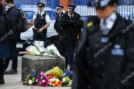 Police officer shot dead at Croydon Custody Centre, London