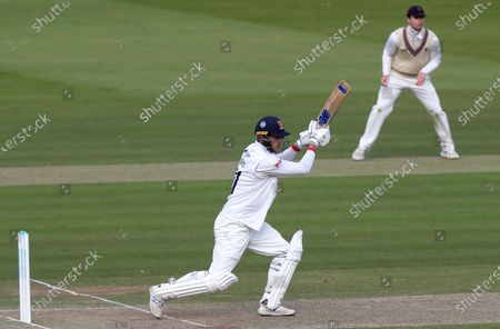 Tom Westley, captain of Essex in batting action during Somerset CCC vs Essex CCC, Bob Willis Trophy Final Cricket at Lord's Cricket Ground on 25th September 2020
