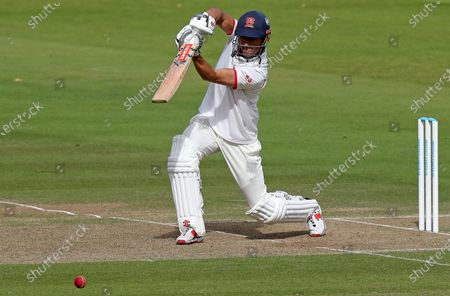 Sir Alastair Cook of Essex in batting action during Somerset CCC vs Essex CCC, Bob Willis Trophy Final Cricket at Lord's Cricket Ground on 25th September 2020