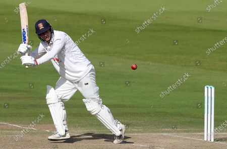 Tom Westley of Essex hits four runs during Somerset CCC vs Essex CCC, Bob Willis Trophy Final Cricket at Lord's Cricket Ground on 25th September 2020
