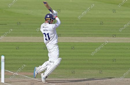Tom Westley of Essex hits out during Somerset CCC vs Essex CCC, Bob Willis Trophy Final Cricket at Lord's Cricket Ground on 25th September 2020