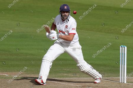 Nick Browne of Essex in batting action during Somerset CCC vs Essex CCC, Bob Willis Trophy Final Cricket at Lord's Cricket Ground on 25th September 2020